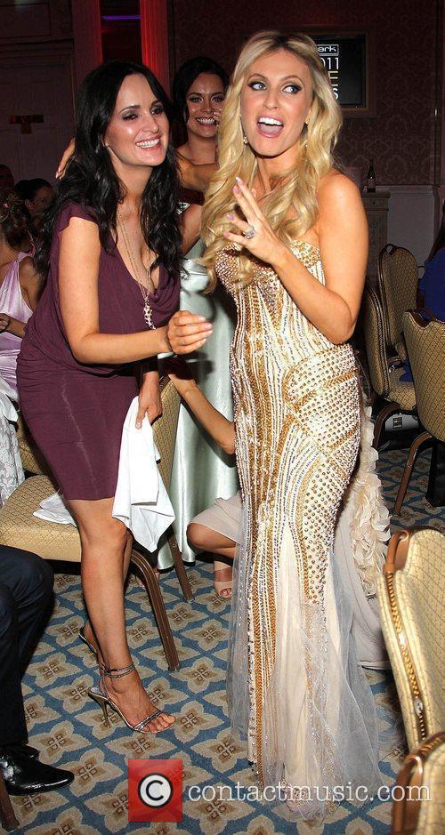 Andrea Roche congratulates Claudine Keane VIP Style Awards...