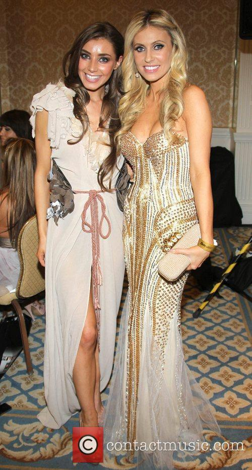 Katie Larmour and Claudine Keane VIP Style Awards...