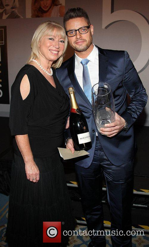 Anne Doyle with Keith Duffy VIP Style Awards...