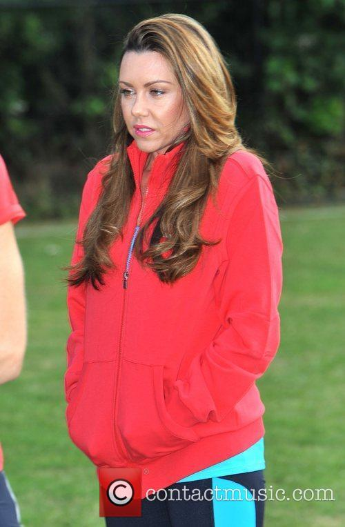 Michelle Heaton Virgin Active London Triathlon - Photocall...