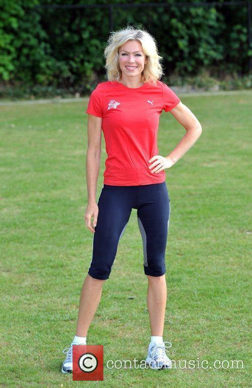Nell McAndrew Virgin Active London Triathlon - Photocall...