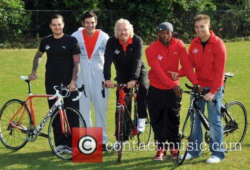 Sir Richard Branson, Marcus Patrick, Matt Willis, Oritse...