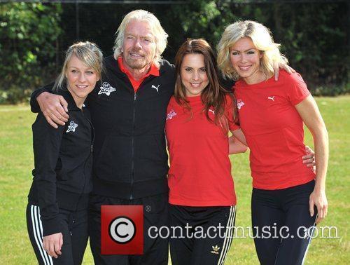 Virgin Active London Triathlon - Photocall held at...