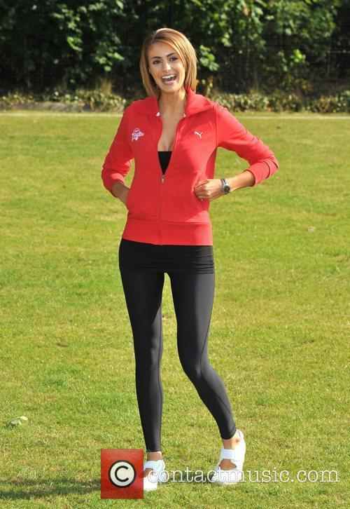 Liz Locke Virgin Active London Triathlon - photocall...