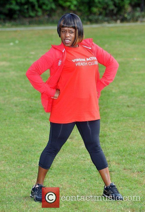 Tameka Empson Virgin Active London Triathlon - photocall...