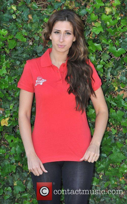 Stacey Solomon Virgin Active London Triathlon - photocall...