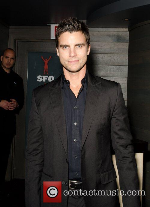 Colin Egglesfield  Virgin Airlines Chicago Launch held...