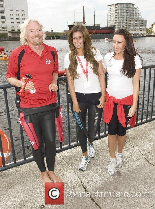 Holly Branson, Michelle Heaton and Stacey Solomon 7