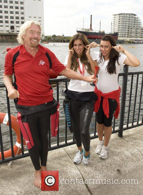 Holly Branson, Michelle Heaton and Stacey Solomon 5