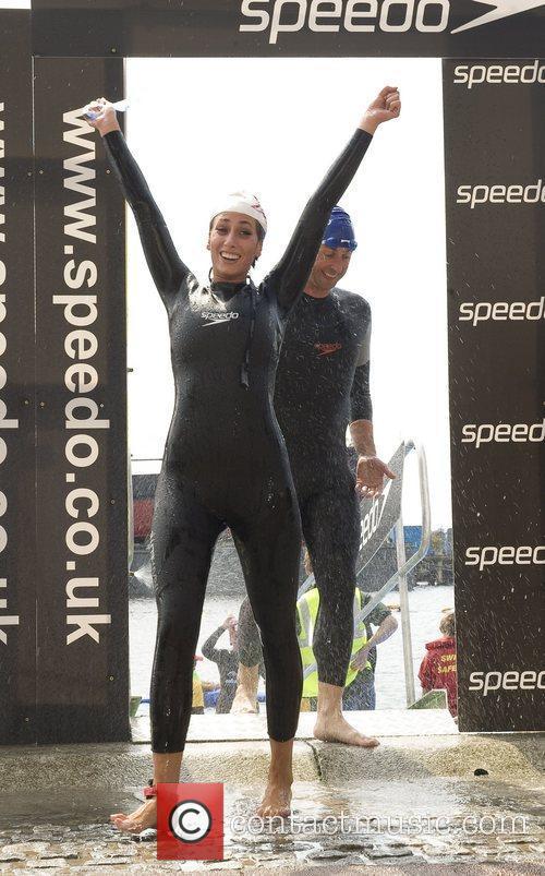Stacey Solomon Virgin Active London Triathlon at the...