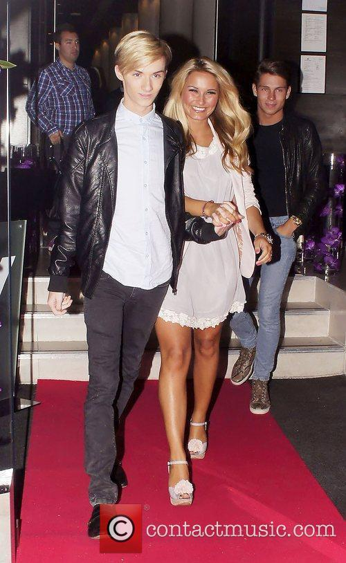 Joey Essex, Sam Faiers, Harry Derbidge  Celebrities...