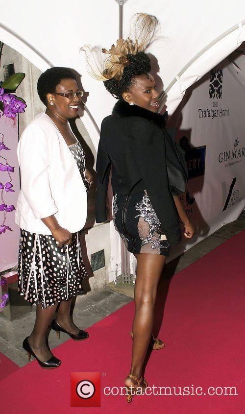 Shingai Shoniwa and guest Celebrities attend Vista at...