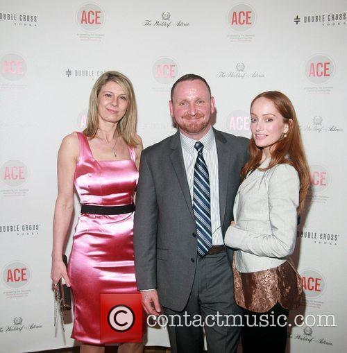 Daniela Zahradnikova, Jim Martin and Lotte Verbeek The...