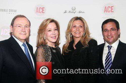 John Calicchio, Denise Lefrak-Calicchio, Jennifer Bandier and Neil...