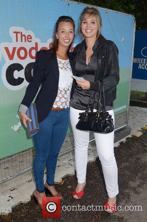 Gemma Holohan and Laura Phillips Vodafone Comedy Festival...