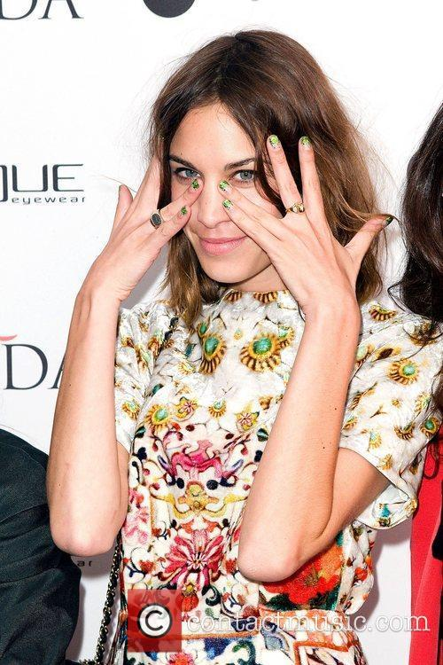Alexa Chung,  at the launch of the...