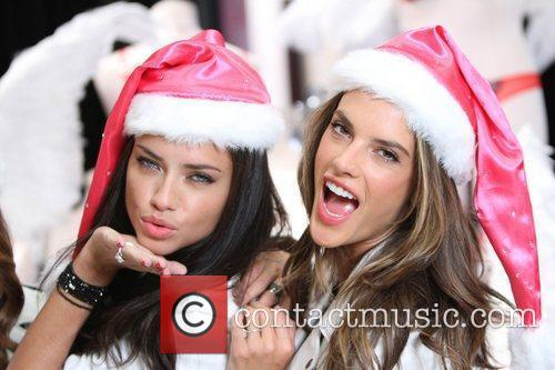 Adriana Lima, Alessandra Ambrosio and Victoria's Secret 3