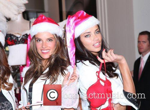 Alessandra Ambrosio, Adriana Lima and Victoria's Secret 1