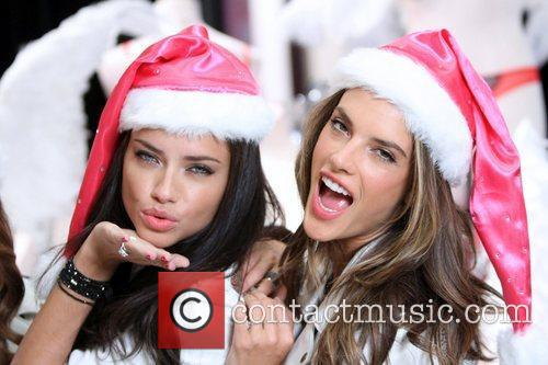 Adriana Lima, Alessandra Ambrosio and Victoria's Secret 1