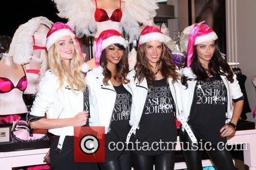 Chanel Iman, Adriana Lima, Alessandra Ambrosio and Victoria's Secret 18