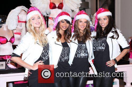 Chanel Iman, Adriana Lima, Alessandra Ambrosio and Victoria's Secret 16