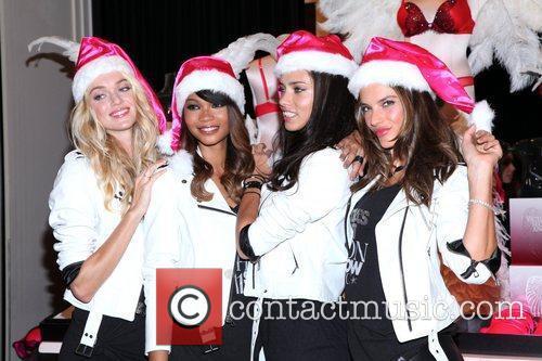 Chanel Iman, Adriana Lima, Alessandra Ambrosio and Victoria's Secret 12