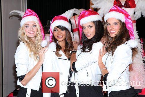 Chanel Iman, Adriana Lima, Alessandra Ambrosio and Victoria's Secret 19