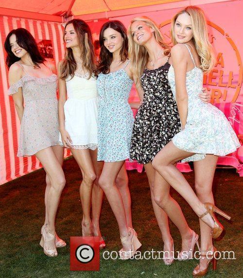 Adriana Lima, Alessandra Ambrosio, Erin Heatherton and Miranda Kerr 4
