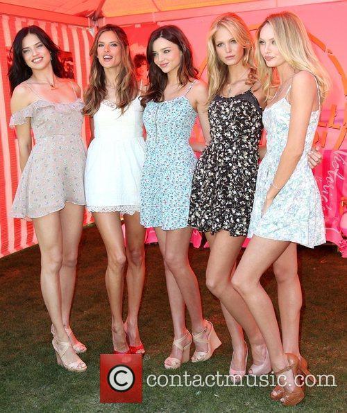 Adriana Lima, Alessandra Ambrosio, Erin Heatherton and Miranda Kerr 12
