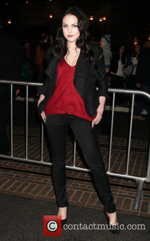Elizabeth Gillies  The premiere of 'Waiting For...