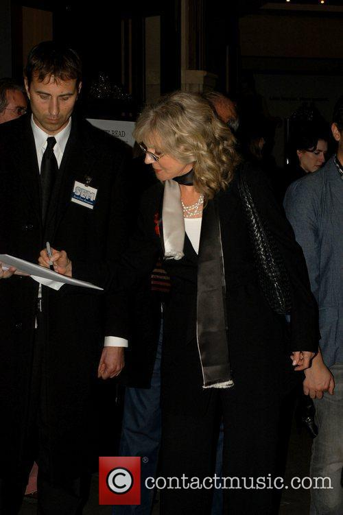Blythe Danner The premiere of 'Waiting For Forever'...
