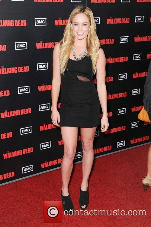 Caity Lotz of MTVs Death Valley,  at...