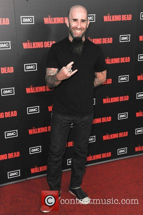 Scott Ian of Anthrax,  at the premiere...