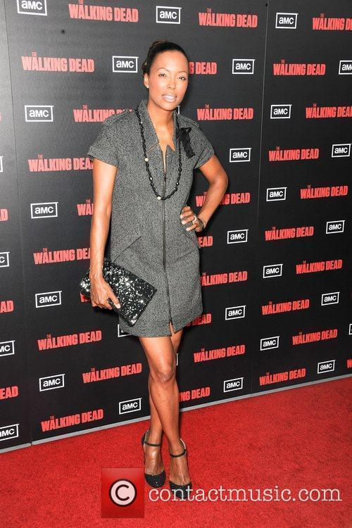 Aisha Tyler ,  at the premiere of...