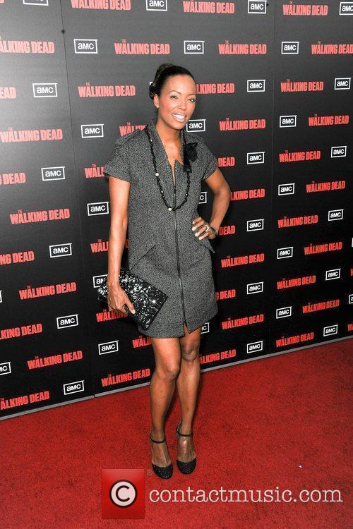 Aisha Tyler,  at the premiere of AMC's...