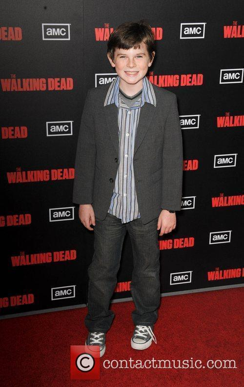Chandler Riggs  at the premiere of AMC's...