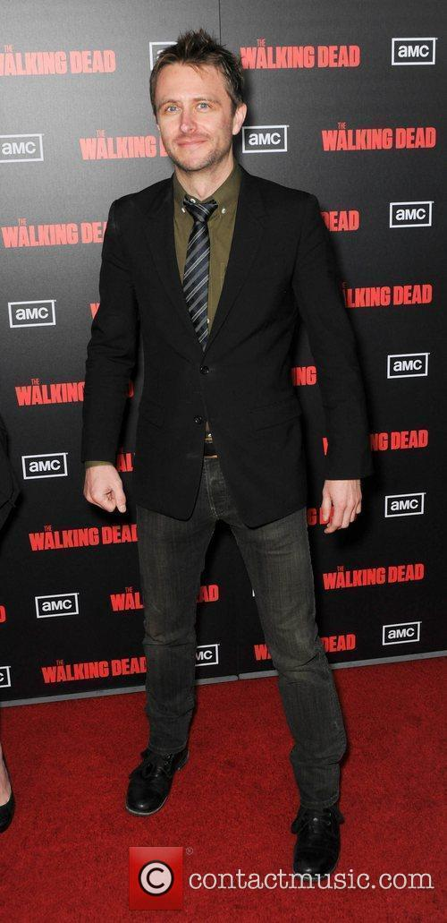 Christopher Hardwick  at the premiere of AMC's...