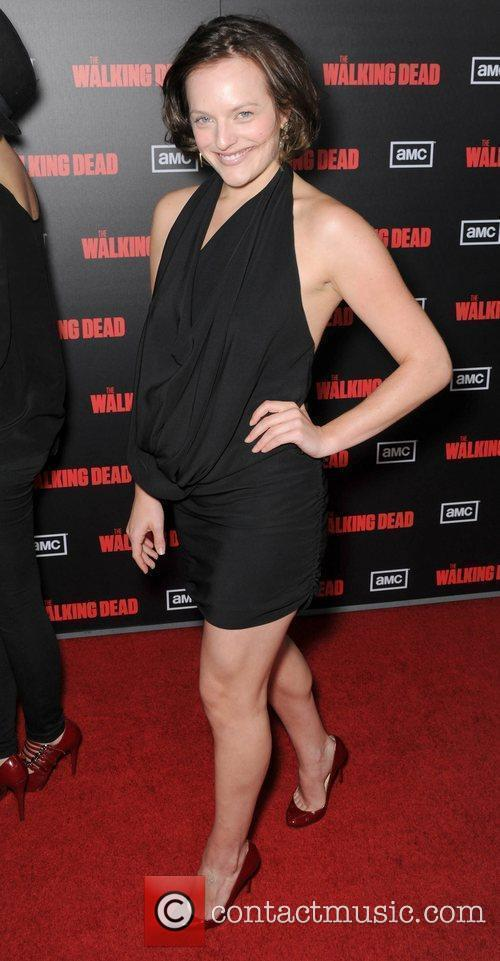 Elizabeth Moss  at the premiere of AMC's...