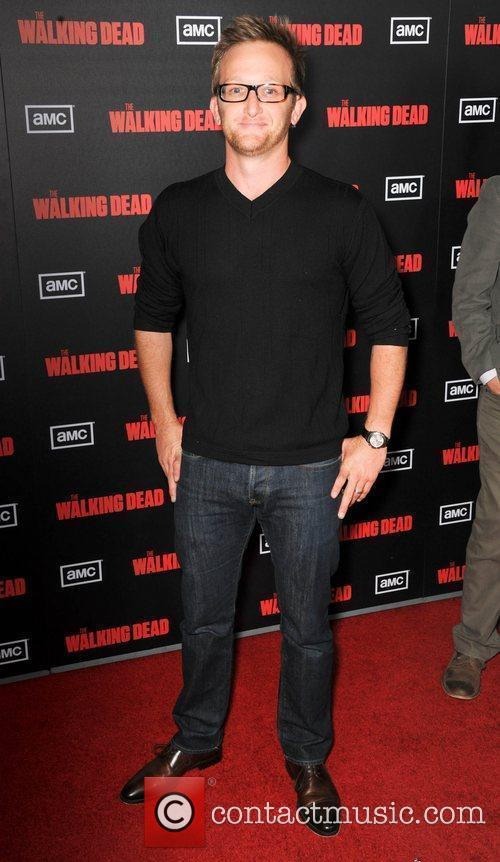 Eric Ladin  at the premiere of AMC's...