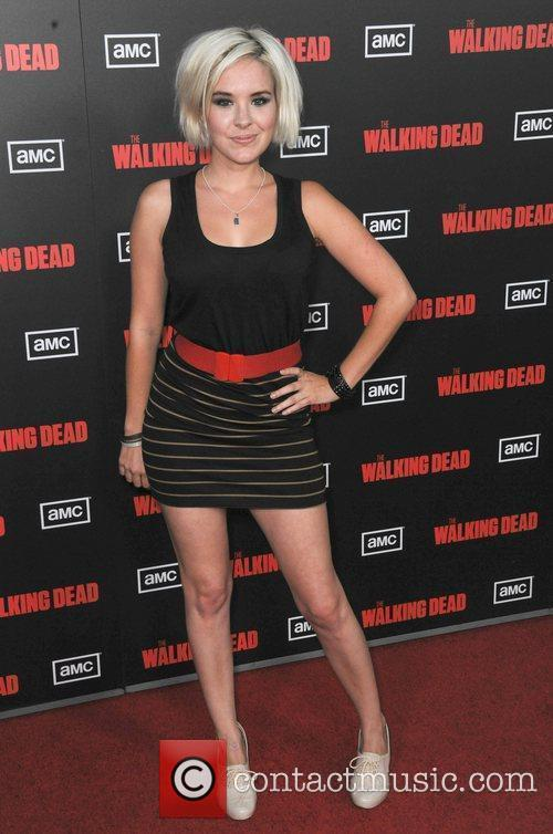 Guest at the premiere of AMC's 'The Walking...