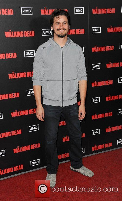 Jason Ritter  at the premiere of AMC's...