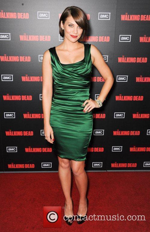 Lauren Cohan  at the premiere of AMC's...