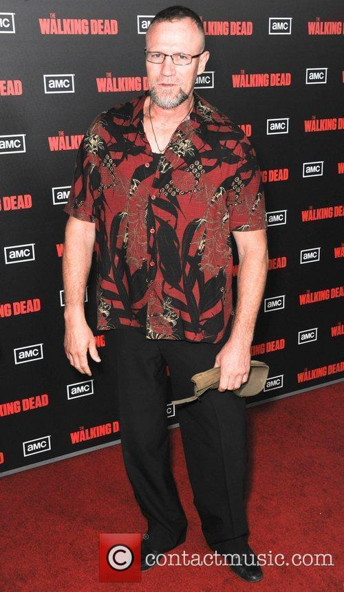 Michael Rooker  at the premiere of AMC's...