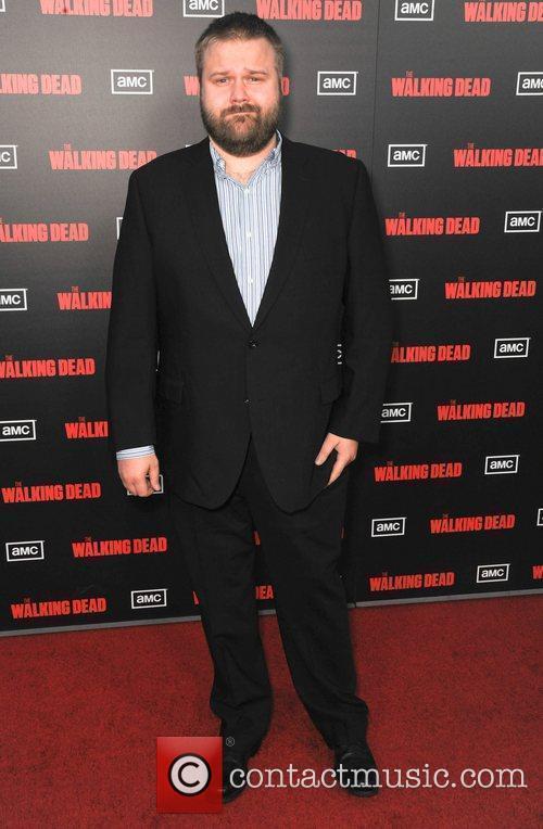 Robert Kirkman  at the premiere of AMC's...