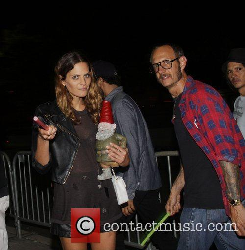 Frankie Rayder, Terry Richardson Alexander Wang After party...