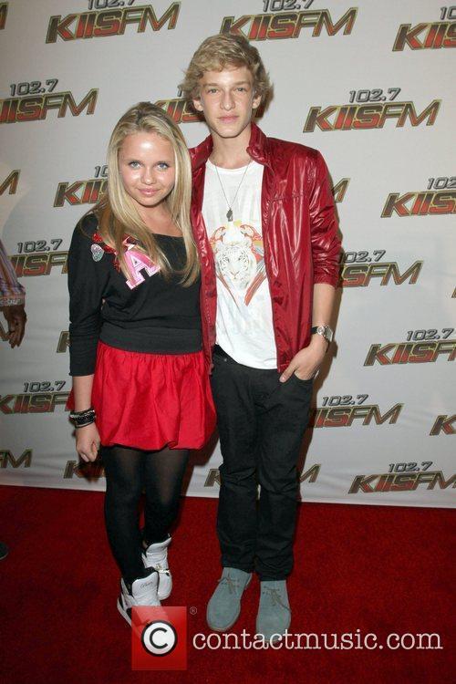 Cody Simpson and sister Alli Simpson  KIIS...