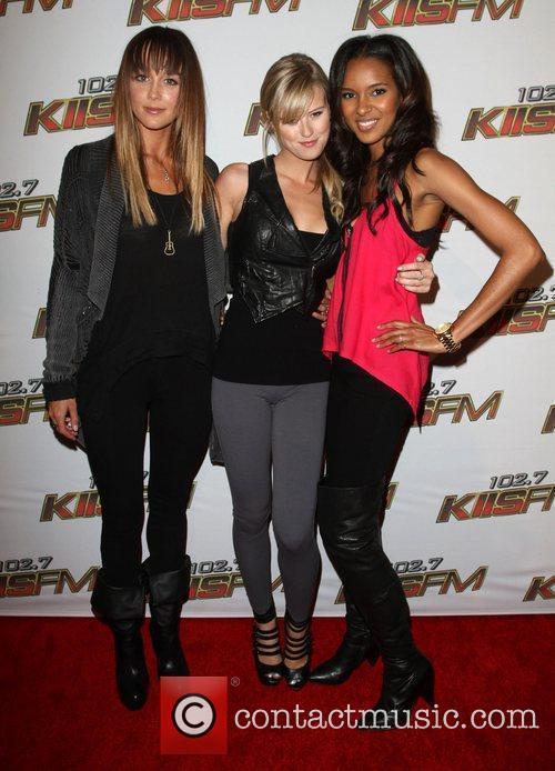 Sharni Vinson, Sasha Jackson and Elizabeth Mathis KIIS...