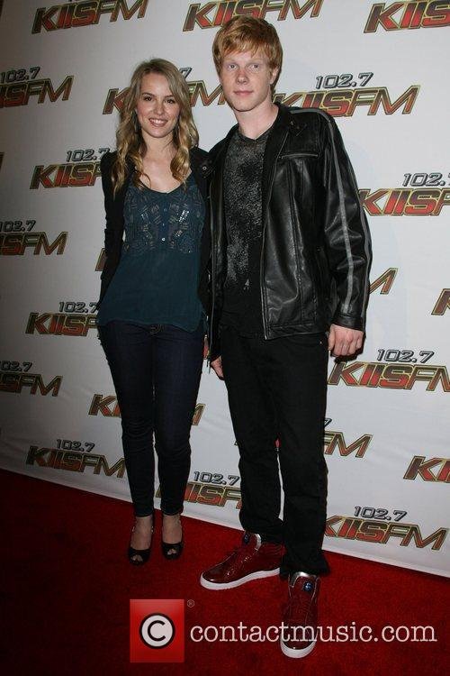 Bridgit Mendler and Adam Hicks KIIS FM's 2011...