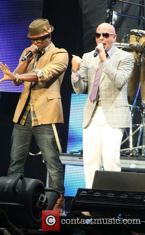 Ne-yo and Pitbull 3