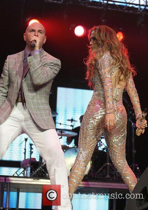 Jennifer Lopez and Pitbull KIIS FM's 2011 Wango...